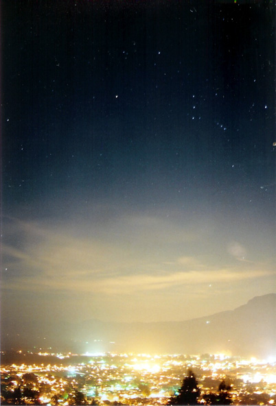 my all time favorite because it caught everything I wanted- the clouds the stars, the lights