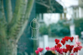 window decal @the cupcake parlour, new zealand