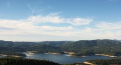 Union Valley Reservoir, in color!