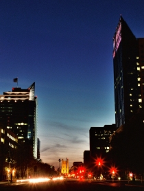 funny thing is, last time I shot this exact shot those two big buildings weren't even there!